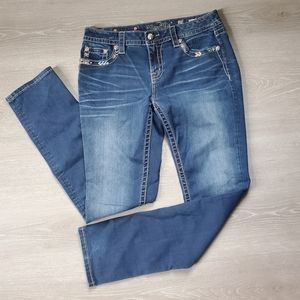 Miss Me Mid-Rise Curvy Skinny Jeans Size 29